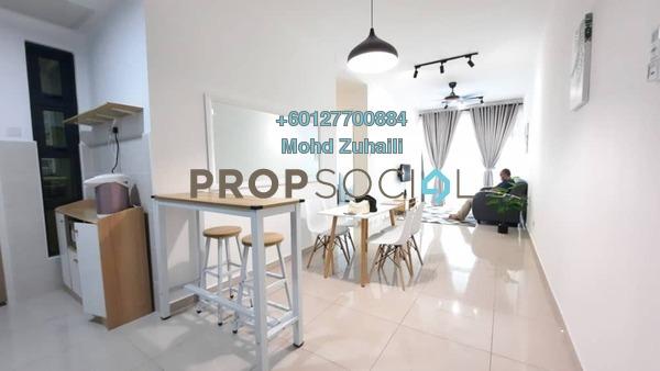 Condominium For Rent in Legasi Kampung Baru, Kampung Baru Freehold Fully Furnished 3R/2B 3k
