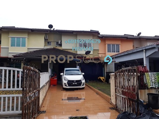 Terrace For Sale in Bandar Saujana Utama, Sungai Buloh Leasehold Unfurnished 4R/2B 370k
