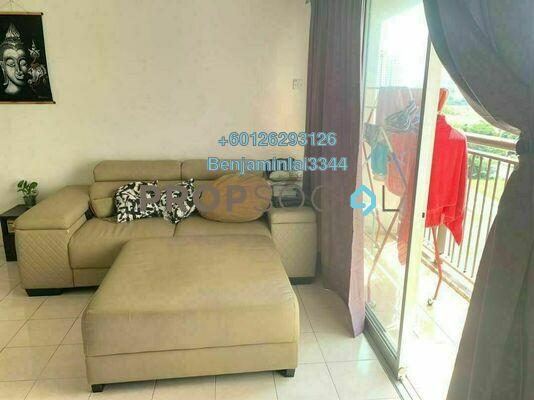 Serviced Residence For Sale in Plaza Medan Putra, Bandar Menjalara Freehold Fully Furnished 1R/1B 250k