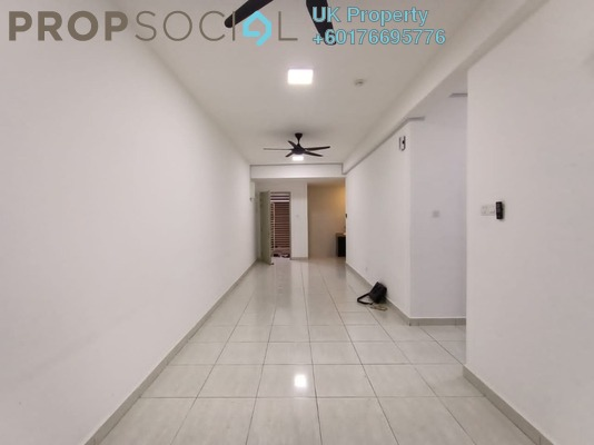 Serviced Residence For Rent in BSP 21, Bandar Saujana Putra Freehold Semi Furnished 3R/2B 1.1k