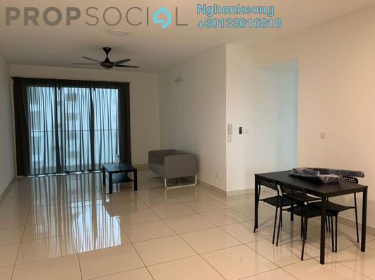 Condominium For Rent in Trinity Aquata, Sungai Besi Freehold Semi Furnished 3R/2B 1.7k