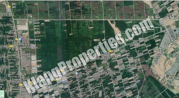 Land For Sale in Kampung Sijangkang, Telok Panglima Garang Leasehold Unfurnished 0R/0B 1.8m