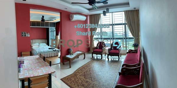 Apartment For Rent in Vista Alam, Shah Alam Freehold Fully Furnished 1R/1B 1.3k
