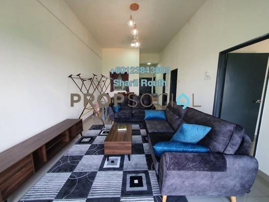 Apartment For Rent in Seri Tijanni, Bukit Rahman Putra Freehold Fully Furnished 3R/2B 1.3k