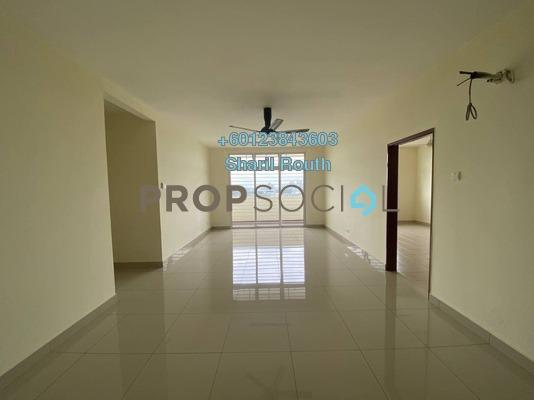 Apartment For Rent in Precinct 8, Putrajaya Freehold Unfurnished 4R/3B 1.5k