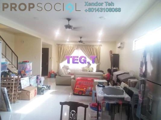 Terrace For Sale in Nahara, Bandar Bukit Raja Freehold Fully Furnished 4R/3B 948k