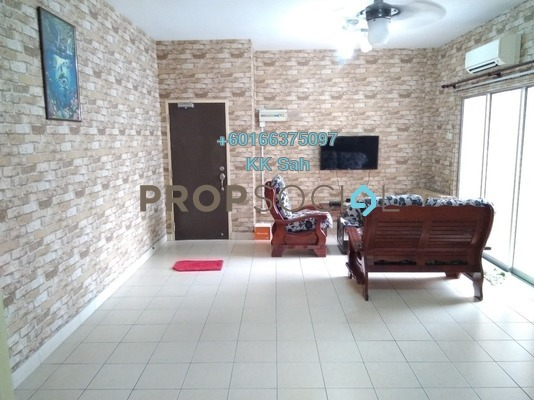 Apartment For Sale in Kasuarina Apartment, Klang Freehold Semi Furnished 3R/2B 328k