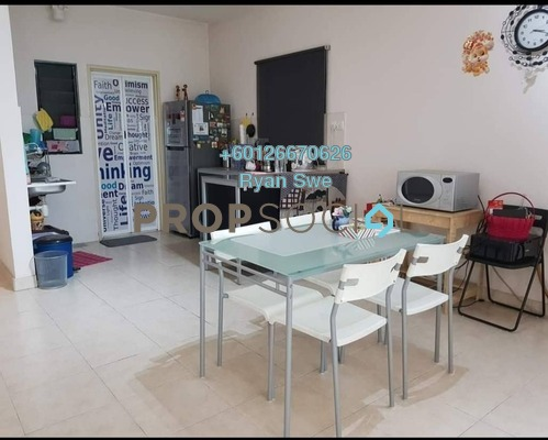 Kondominium Untuk dijual di Changkat View, Dutamas Freehold Semi Furnished 3R/2B 460Ribu