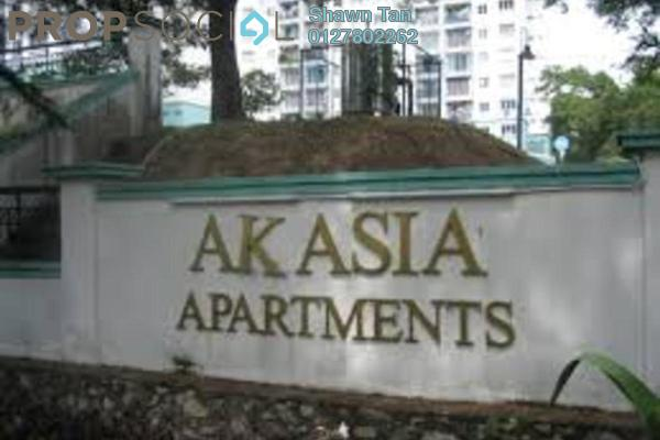 Apartment For Sale in Akasia Apartment, Pusat Bandar Puchong Freehold semi_furnished 3R/2B 370k