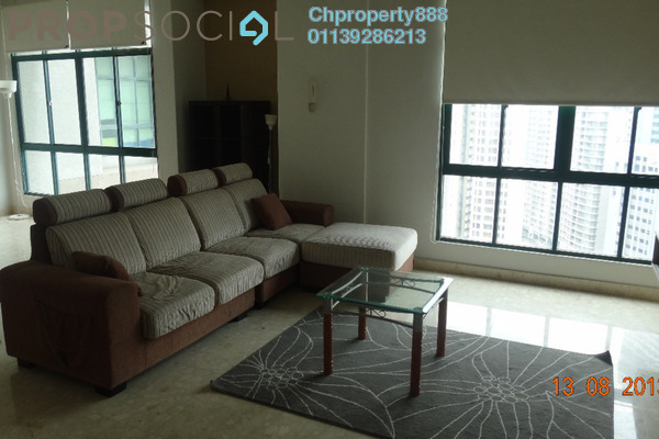Condominium For Rent in Menara Avenue, KLCC Freehold Fully Furnished 2R/2B 3k