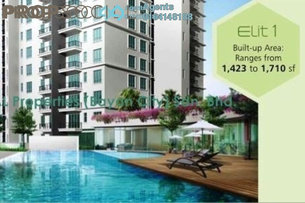 Condominium For Rent in Elit Heights, Bayan Baru Freehold semi_furnished 3R/2B 1.6k