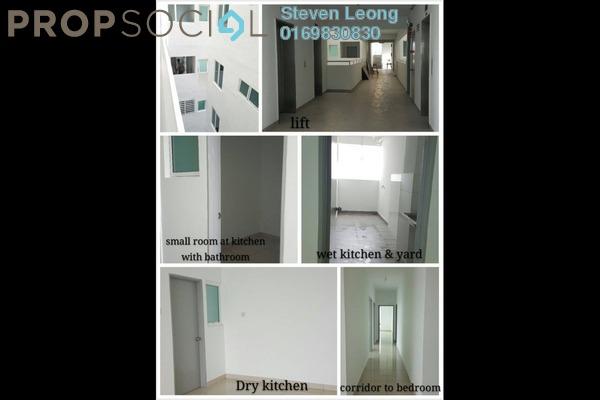 Condominium For Rent in Bayu Sentul, Sentul Leasehold Unfurnished 3R/2B 1.3k