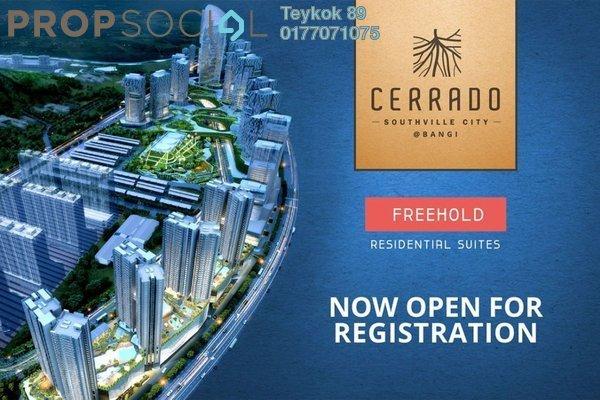 Condominium For Sale in Cerrado, Southville City Freehold Semi Furnished 3R/2B 350k