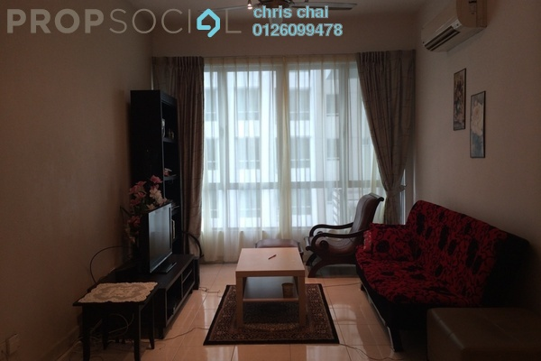 Condominium For Sale in Casa Tiara, Subang Jaya Freehold Fully Furnished 3R/2B 580k