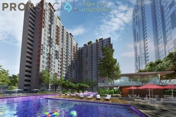Condominium For Sale in Vega Suites @ Selayang Star City, Selayang Leasehold Unfurnished 1R/1B 322k
