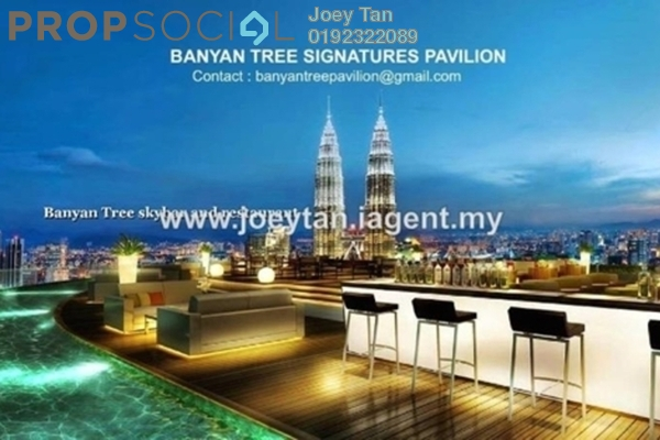 Condominium For Sale in Banyan Tree, KLCC Freehold Semi Furnished 2R/2B 3m