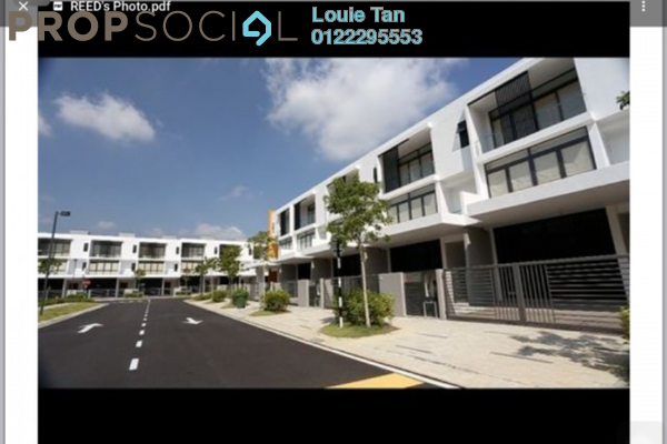 Terrace For Sale in Lake View Residency, Taman Pelangi Indah Freehold Unfurnished 4R/6B 1.88m