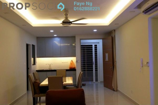 Condominium For Sale in The Z Residence, Bukit Jalil Freehold Fully Furnished 3R/2B 860k