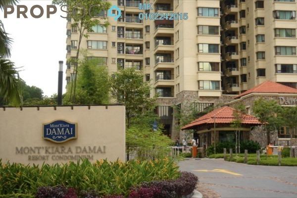 Condominium For Rent in Mont Kiara Damai, Mont Kiara Freehold Fully Furnished 4R/3B 10k