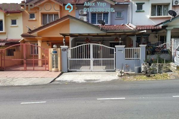 Terrace For Sale in Taman Bukit Angsana, Cheras South Leasehold Semi Furnished 3R/3B 450k