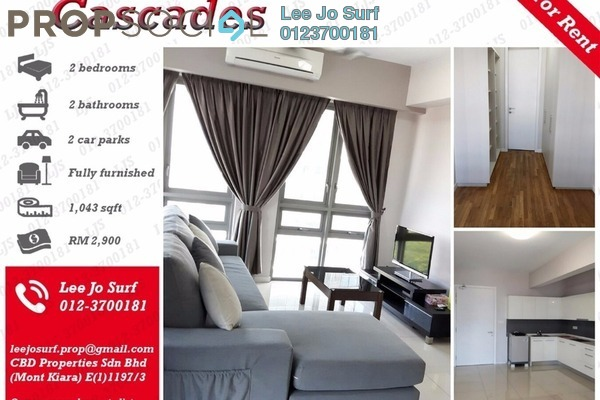 Condominium For Rent in Cascades, Kota Damansara Leasehold Fully Furnished 2R/2B 2.9k