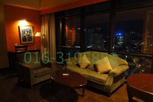 Serviced Residence For Rent in Berjaya Times Square, Bukit Bintang Freehold Semi Furnished 1R/1B 3k