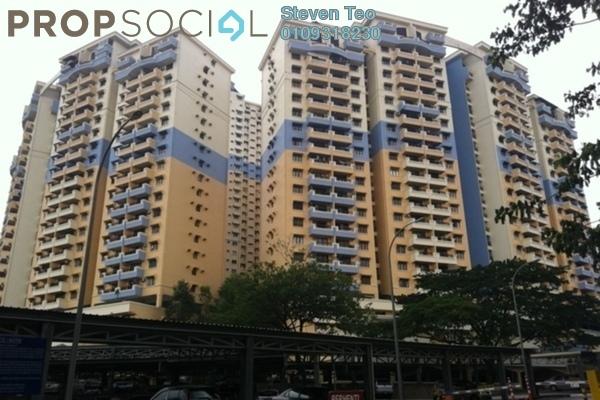 Condominium For Sale in Vista Komanwel, Bukit Jalil Freehold Semi Furnished 3R/2B 540k