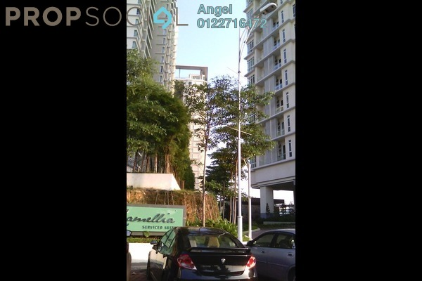 For Sale Serviced Residence at Camellia, Bangsar South Leasehold Semi Furnished 1R/1B 625k