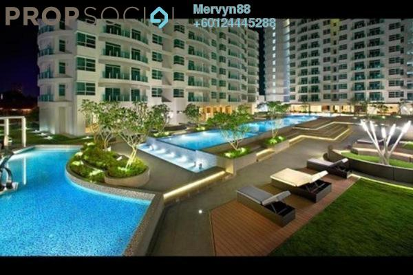 Condominium For Sale in The Oasis, Cheras South Freehold Semi Furnished 3R/2B 520k