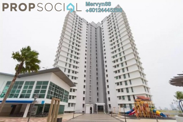 Condominium For Sale in The Brezza, Tanjung Tokong Leasehold Semi Furnished 3R/2B 715k