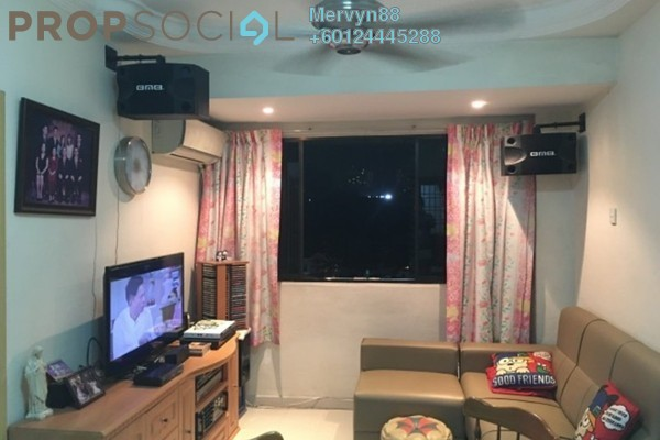 Serviced Residence For Sale in Villa Aman, Ampang Hilir Freehold Semi Furnished 2R/1B 200k