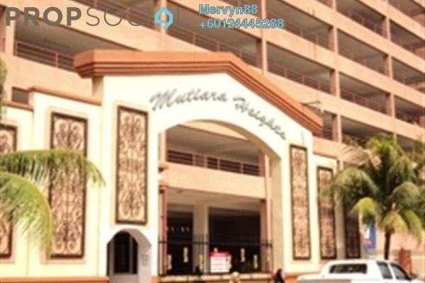 Condominium For Sale in Mutiara Heights, Jelutong Freehold Semi Furnished 4R/4B 500k