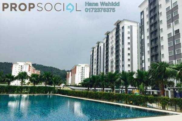 Apartment For Sale in Seri Intan Apartment, Setia Alam Freehold Fully Furnished 3R/2B 310k
