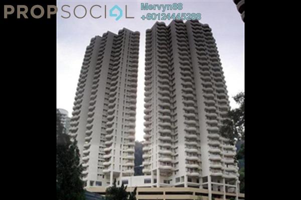 Condominium For Sale in Coastal Towers, Tanjung Bungah Freehold Semi Furnished 2R/2B 530k