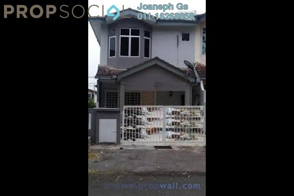 Terrace For Sale in Saujana Puchong, Puchong Leasehold Semi Furnished 4R/3B 435k