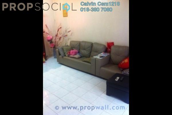 Terrace For Sale in PU10, Bandar Puchong Utama Leasehold Semi Furnished 3R/2B 505k