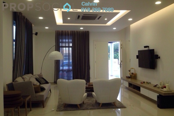 Semi-Detached For Sale in Setia Eco Park, Setia Alam Leasehold Semi Furnished 5R/4B 2.35m