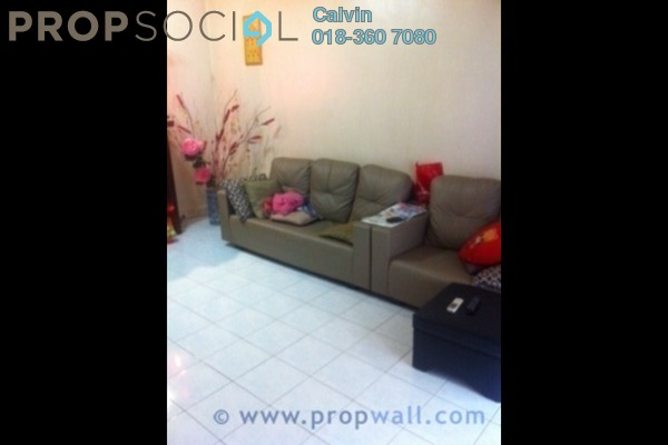 For Sale Terrace at PU10, Bandar Puchong Utama Leasehold Semi Furnished 3R/2B 505k