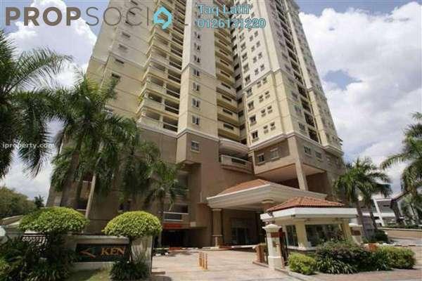 Condominium For Sale in Ken Damansara I, Petaling Jaya Freehold Semi Furnished 2R/2B 650k