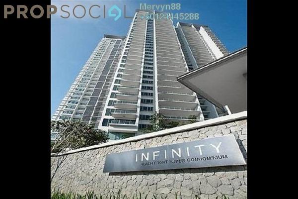 Condominium For Sale in Infinity, Tanjung Bungah Freehold Semi Furnished 4R/4B 2.5m