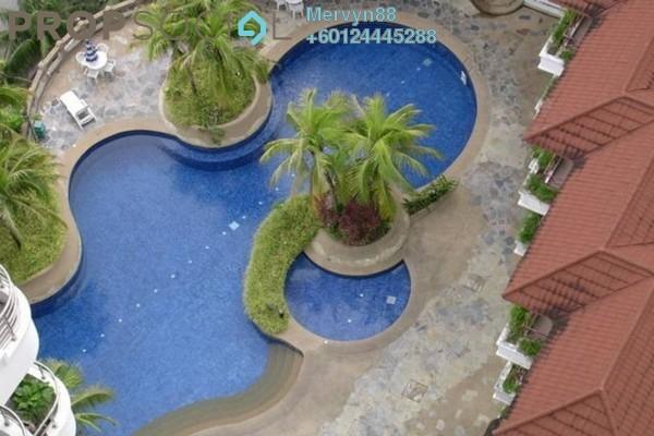 Condominium For Sale in Marina Tower, Tanjung Bungah Freehold Semi Furnished 3R/2B 580k