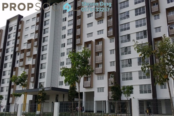 For Sale Apartment at Seri Mutiara, Setia Alam Freehold Unfurnished 3R/2B 320k