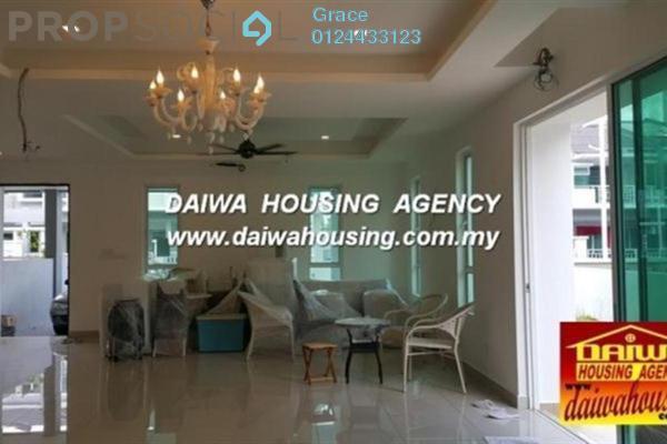 Terrace For Sale in Dua Menjalara, Bandar Menjalara Leasehold Semi Furnished 4R/4B 2m