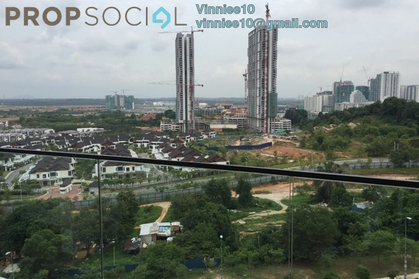 Condominium For Rent in Cristal Residence, Cyberjaya Freehold Semi Furnished 3R/2B 2.3k