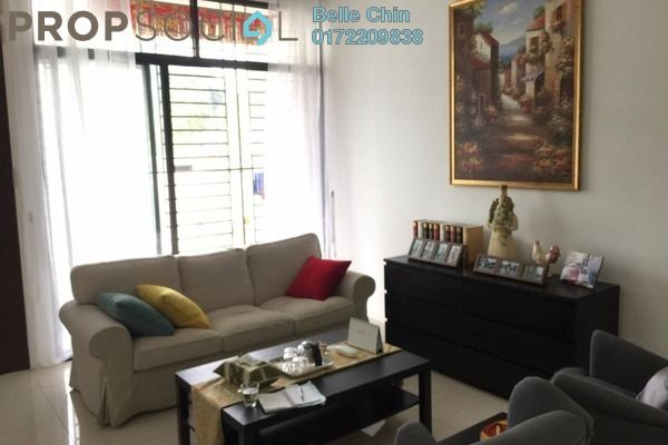 Terrace For Sale in Eden @ Jalil, Bandar Putra Permai Freehold Fully Furnished 5R/5B 1.38m