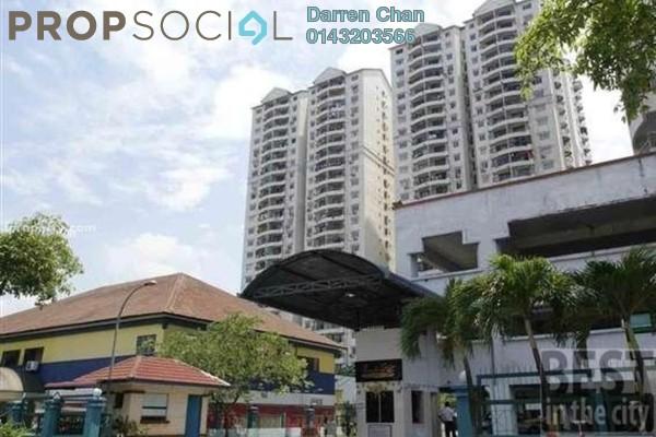 Condominium For Rent in Pandan Villa, Pandan Indah Leasehold Semi Furnished 2R/2B 1.6k