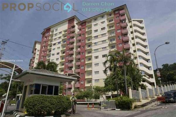 Condominium For Rent in Belimbing Heights, Seri Kembangan Freehold Semi Furnished 3R/2B 1k