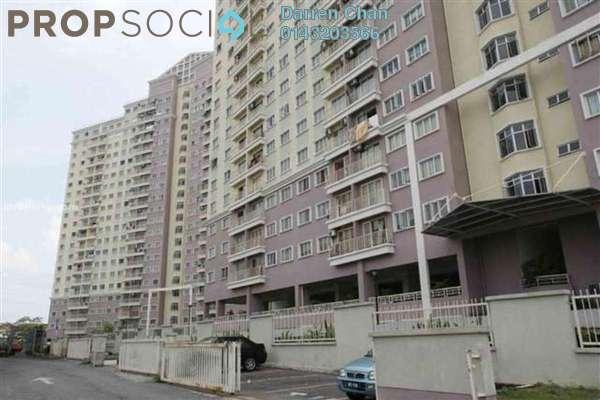 Condominium For Rent in Juta Mines, Seri Kembangan Leasehold Semi Furnished 3R/2B 1.2k