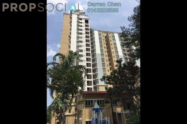 Condominium For Rent in Villa Park, Seri Kembangan Freehold Fully Furnished 3R/2B 1.5k