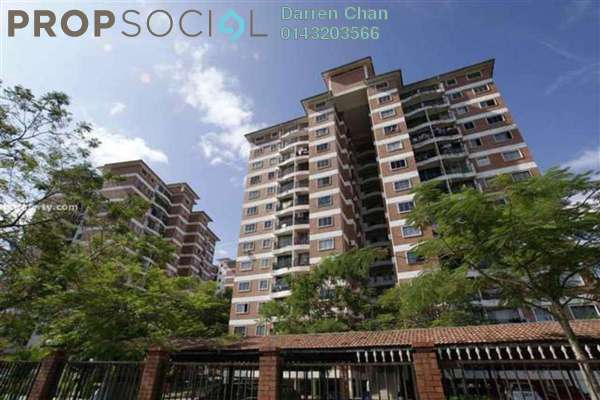 Condominium For Rent in Forest Green, Bandar Sungai Long Freehold Semi Furnished 3R/2B 1.6k
